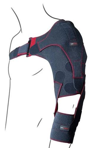 Sostegno posturale dinamico dell'articolazione, braccio plegico, emiplegia, algodistrofia (sindrome spalla-mano), ipotonia di spalla